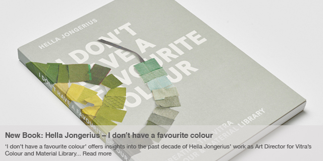 new book: Hella Jongerius – I don't have a favourite colour