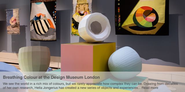 Breathing Colour – exhibition at the Design Museum London