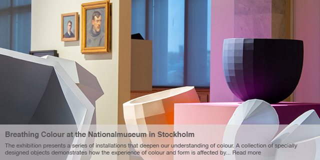 Breathing Colour - exhibition at the Nationalmuseum in Stockholm