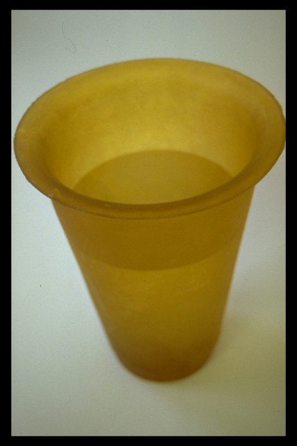 Soft Vase yellow