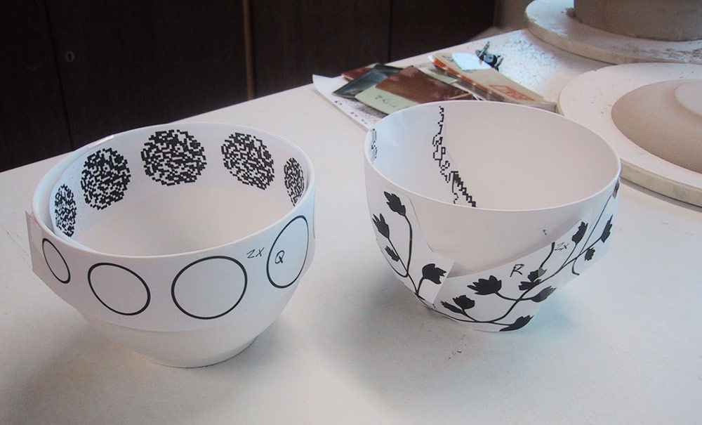 Repeat Porcelain Process bowls