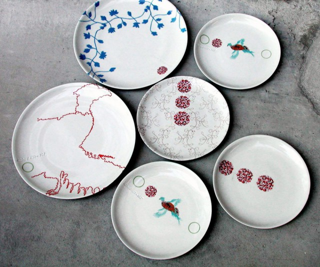 Repeat Porcelain Plates