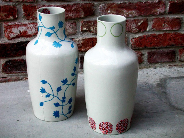 Repeat Porcelain Jugs
