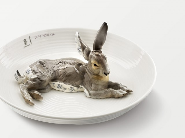 Nymphenburg Sketches - Animal Bowls Hare