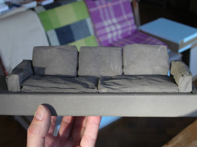 Polder Sofa Small scale model