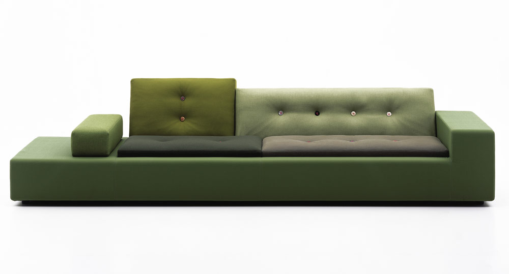 Polder Sofa Green XXL