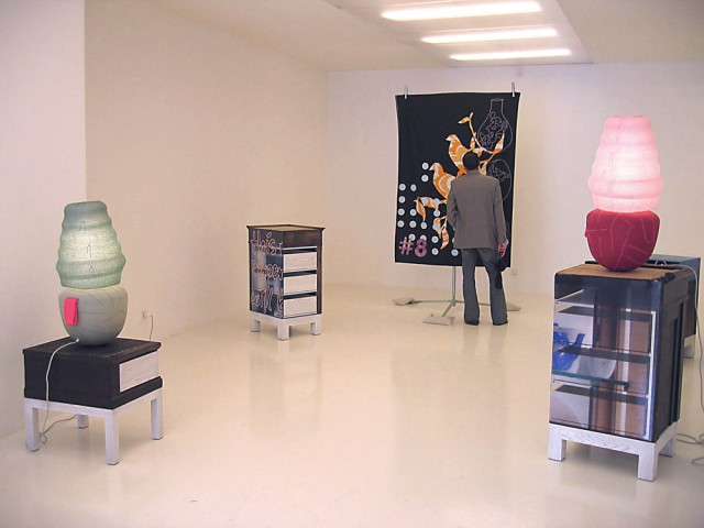 Bead Bulbs with Cupboards at Galerie Kreo