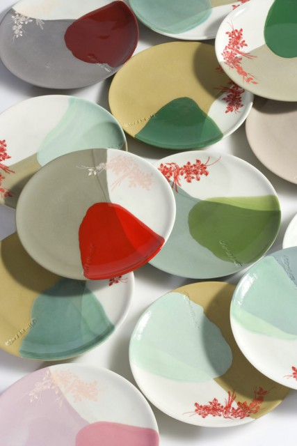Porcelain Colour Research on small B-Set plates