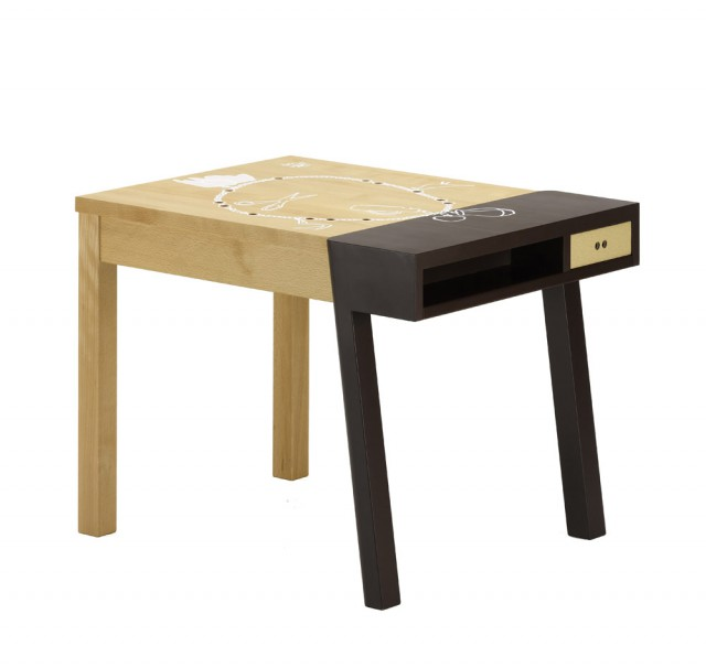 Porcupine Desk, brown