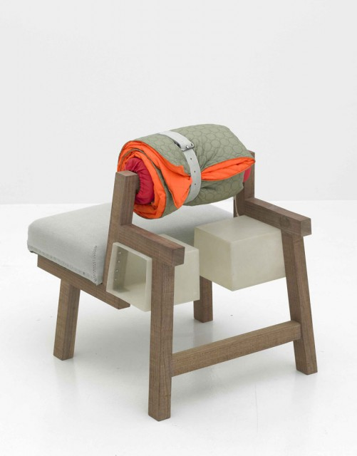 Backpack sofa and stool jongeriuslab design studio for Sofa stool design