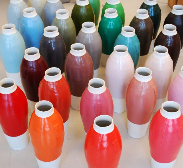Coloured Vases 2nd Series