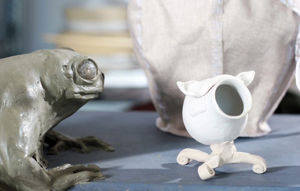 Models for Frog table and Office pets