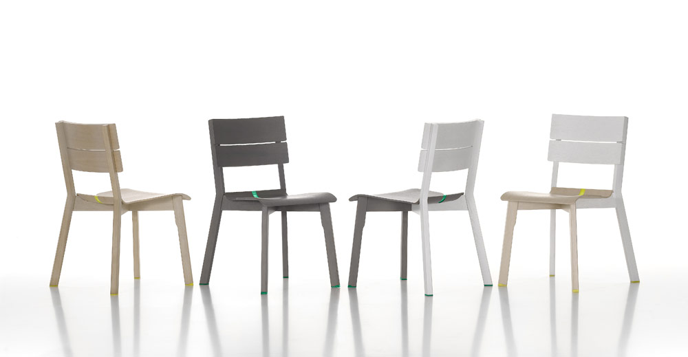 Group of Rotterdam Chairs