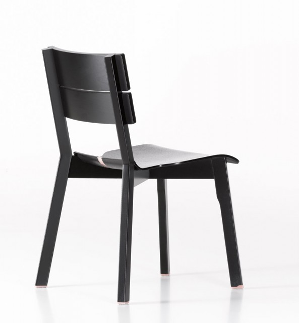 Rotterdam Chair black and pink