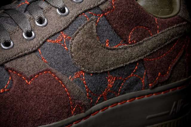 Layers on Nike, detail