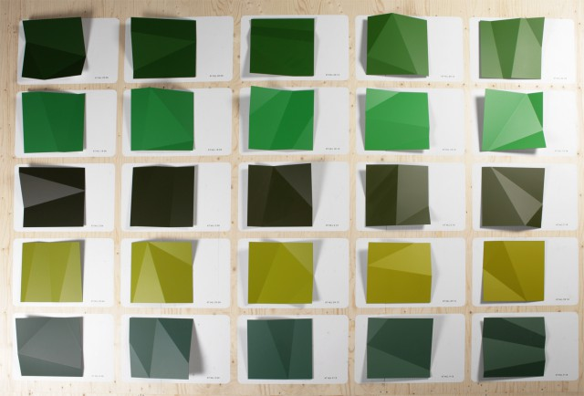 new options for industrial paint, shades of green