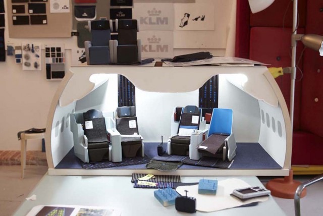 Cabin interior scale model, image by Marcus Gaab