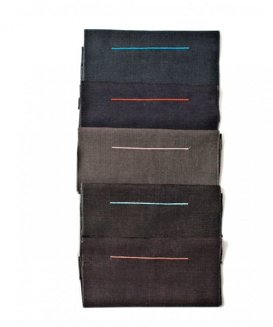 Selected fabric designs for the seat covers