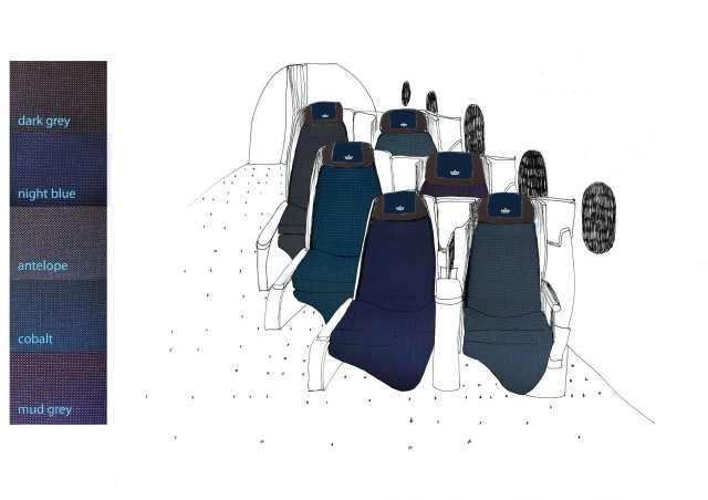 Final seat colour selection