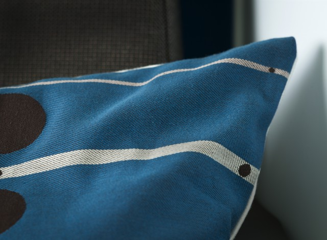 Detail of the pillow design ©KLM