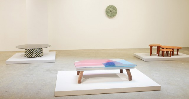 Dragon Fly table at the Galerie Kreo