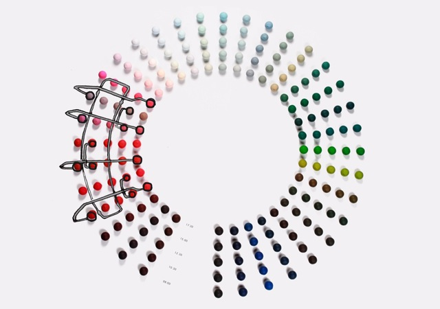 colour palette for charles and ray eames hang it all magnet dots jongeriuslab design studio. Black Bedroom Furniture Sets. Home Design Ideas