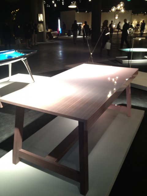 Niebla Table, presented during Design Miami/ 2013 in Basel