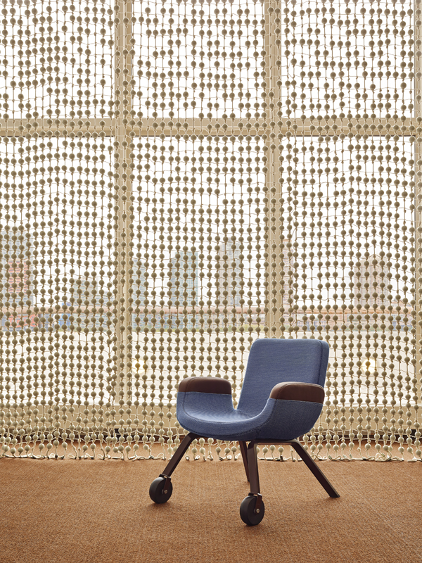 UN North Delegates' Lounge - UN Lounge Chair © Franc Oudeman