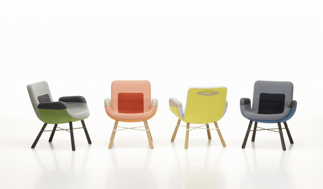 Color options for East River Chair