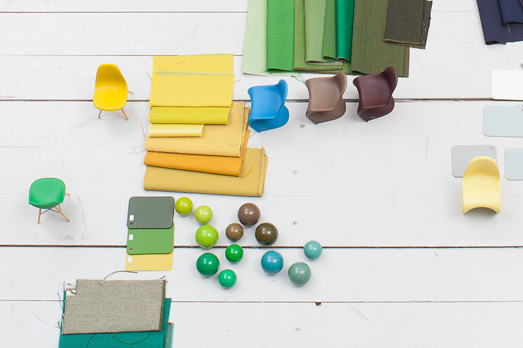 detail from movie about the Vitra colour library