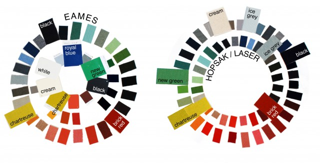 Eames and Hopsak colorwheels