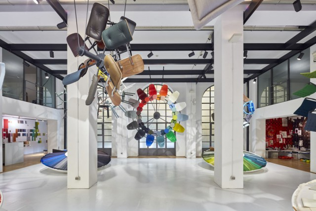 Image of the Colour Machine installation at CasaVitra ©Vitra