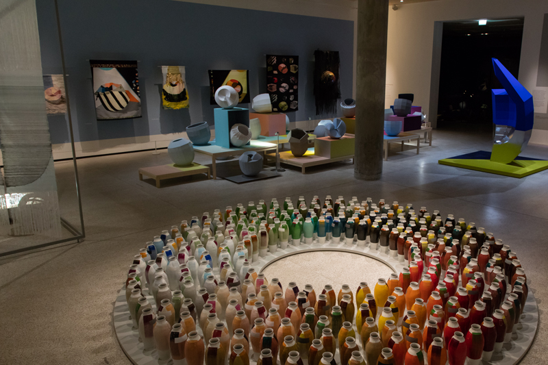 Breathing Colour – View of the exhibition.