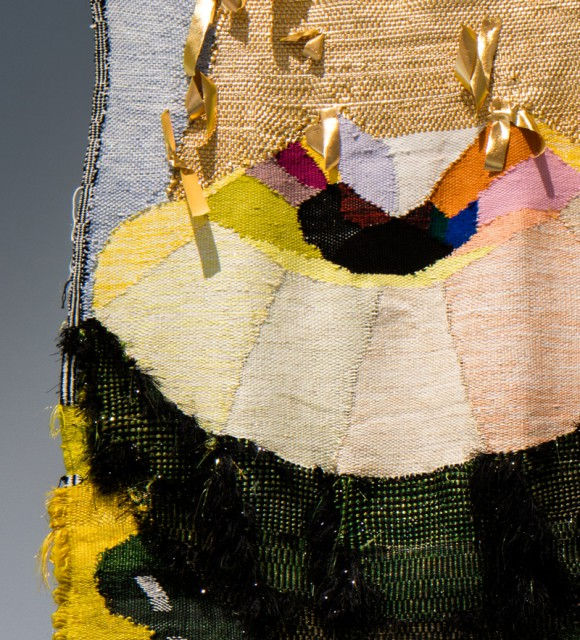 WOVEN MOVIE 12 pm noon – detail. Photo: Luke Hayes