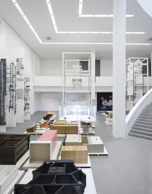 View of the exhibition 'Beyond the New – Hella Jongerius & Louise Schouwenberg.'