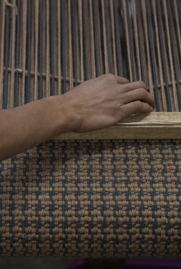 Weaving Lattice at the mill.