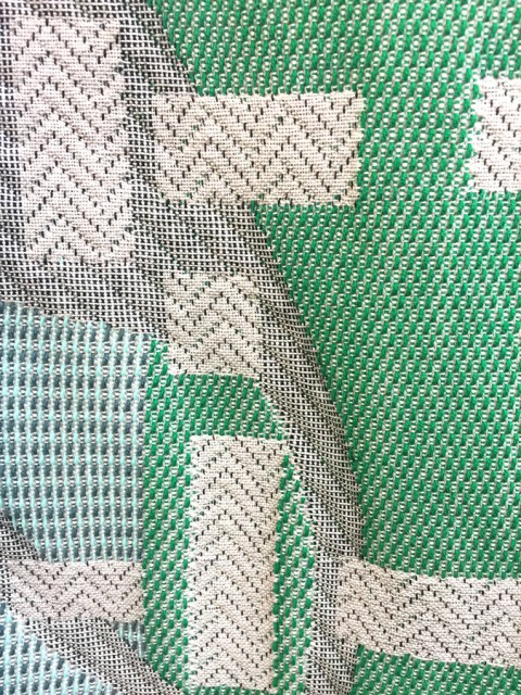 Detail of a woven sample