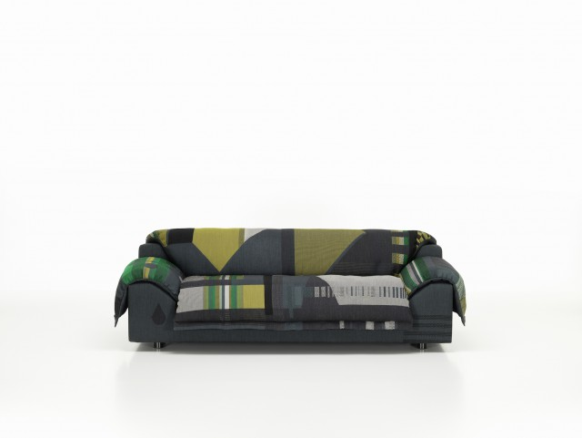 Vlinder Sofa dark greens