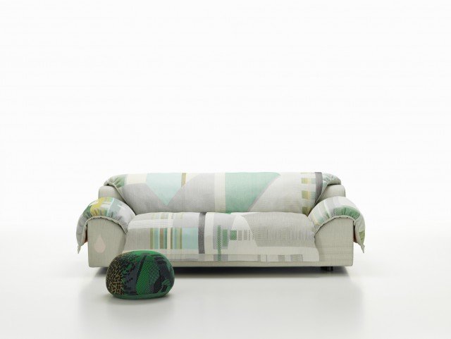 Vlinder Sofa lights greens