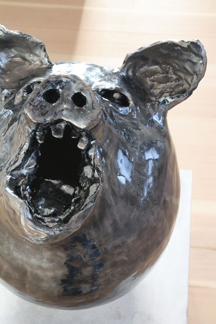 Pig, from the series Angry Animals, 2021