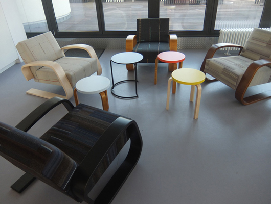 Tank Chairs with Stool 60 in the new colours