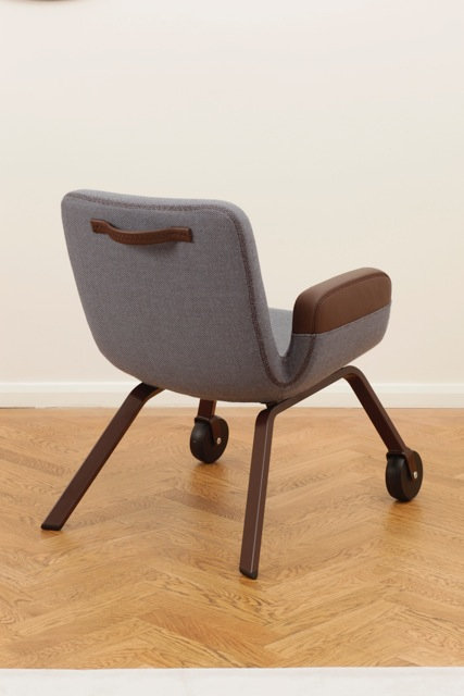 UN Lounge Chair at Gallerie Kreo London (colour: Slate)