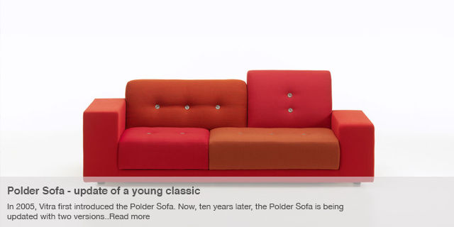 Polder Sofa and Polder Compact