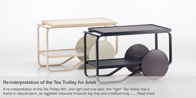 Re-interpretation of the Tea Trolley for Artek