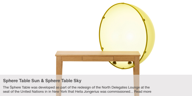 Sphere Table Sky &amp; Sphere Table Sun