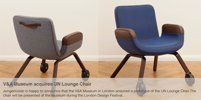 V&A Museum acquires UN Lounge Chair