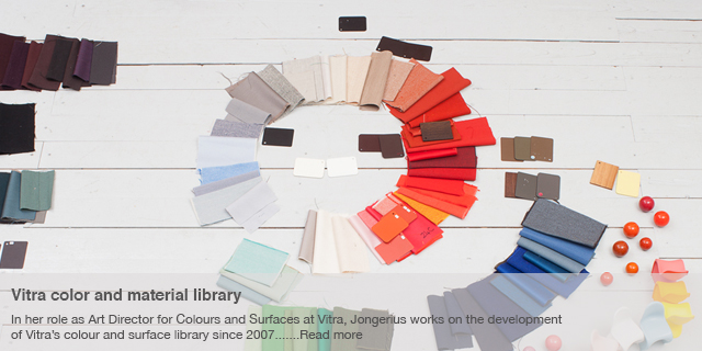 Vitra colour and material library